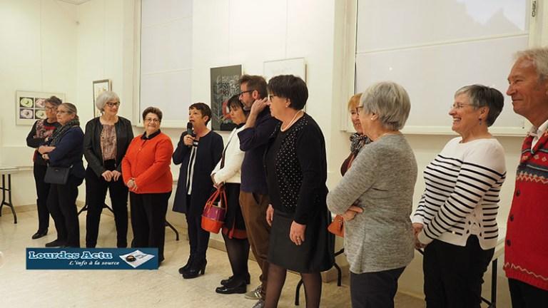 Read more about the article Lourdes : l'expo de l'Atelier «Art et culture» nous a «régalés» !