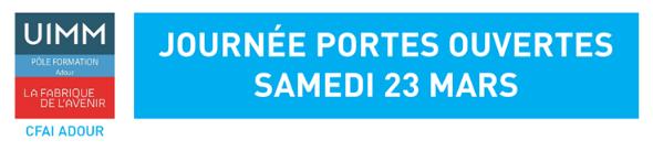 Communiqué de presse du Pôle Formation Adour : Les mercredis de l'industrie ! Construisons ensemble votre projet d'apprentissage