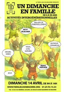 Read more about the article Bagnères-de-Bigorre : Un dimanche en famille au Tiers Lieux en Bigorre le 14 avril