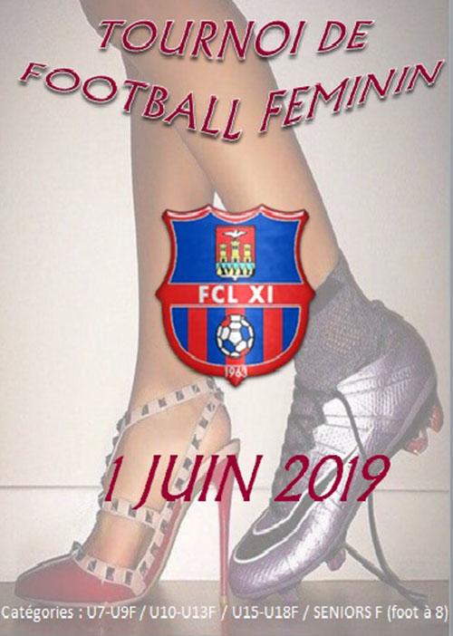 Lourdes : ne manquez pas le Tournoi Féminin du FCL XI le 1er juin