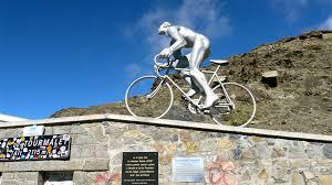 Montée du Géant du Tourmalet, Souvenir Laurent Fignon le 1er juin