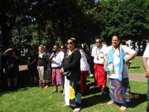Lourdes : Pèlerinage haut en couleurs et traditions des rugbymen du Pacifique
