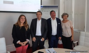 Lourdes : Présentation en Mairie du nouveau Délégataire du Pic du Jer