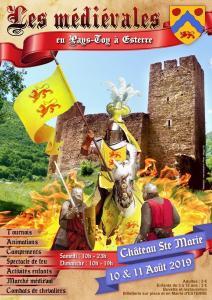 Read more about the article Esterre : Grand festival médiéval au Château Sainte Marie les 10 & 11 août 2019