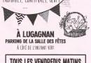 Marché des producteurs à Lugagnan.