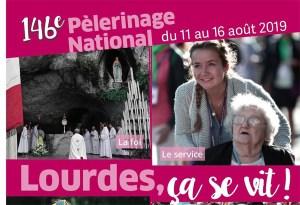 Lourdes : le 146ème du Pèlerinage national en progression dans tous les domaines