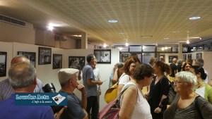 Lourdes : Vernissage de l'expo de Fernand Fourcade