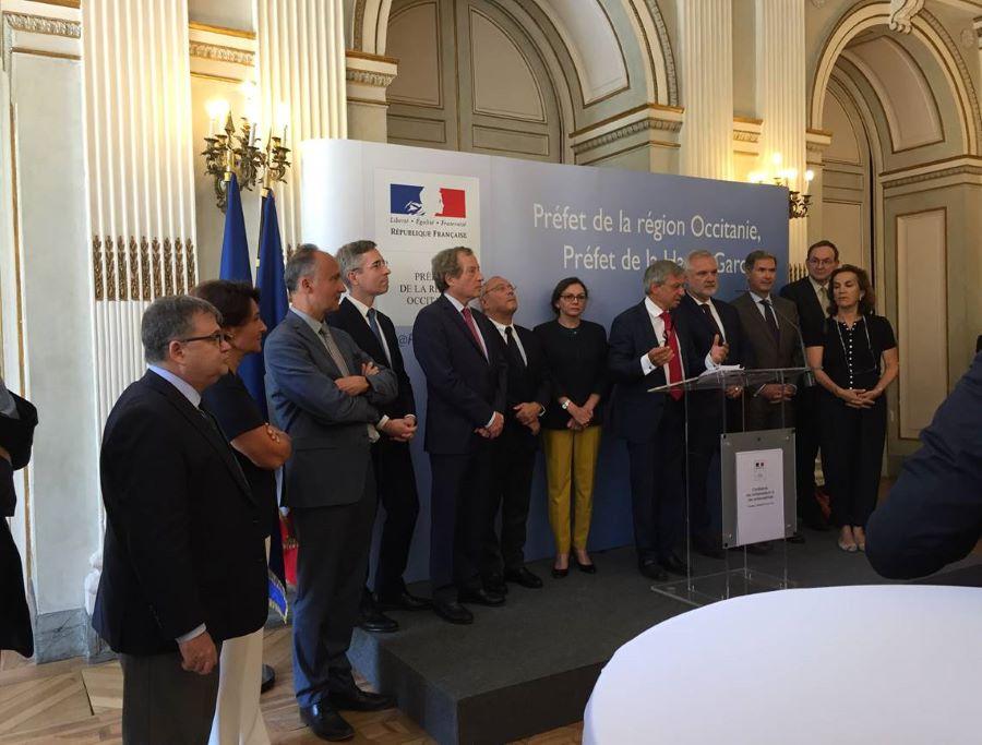 Lourdes « en inspiratrice » auprès des Ambassadeurs de France