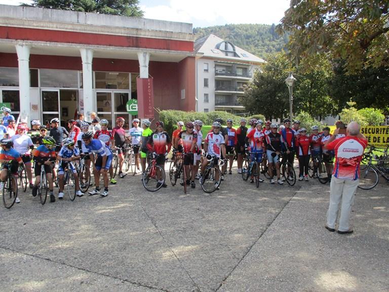 Lourdes : du succès pour la 23ème Randonnée cycliste de l'espoir