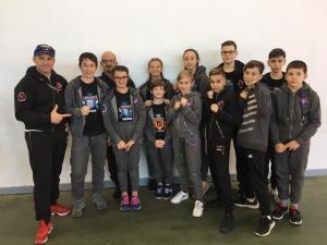 Plusieurs champions et vice-champions du BOXING FULL CONTACT LOURDAIS au Championnat Occitanie