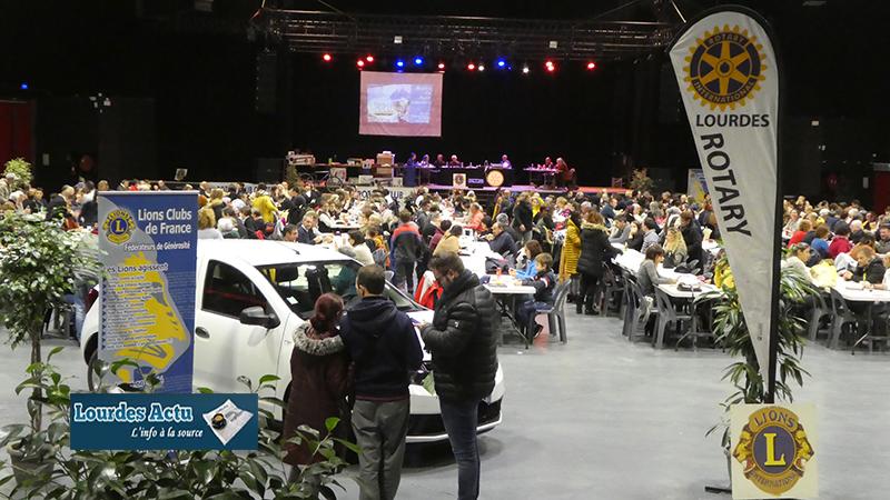 La voiture du Maxi Loto au profit de la lutte contre le cancer a été gagnée à l'Espace Robert Hossein à Lourdes
