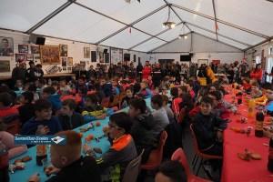Lourdes : belle ambiance au Noël de l'école de rugby du Pays de Lourdes