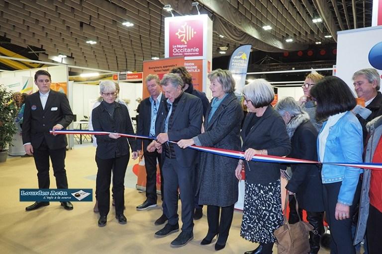 Read more about the article Lourdes : belle Inauguration du 2ème Salon TAF