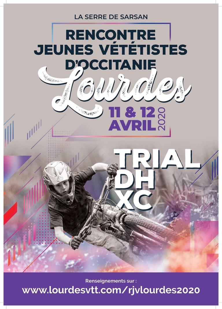 Lourdes : une nouvelle épreuve spectaculaire de VTT sur le terrain de la Serre de Sarsan les 11 et 12 avril