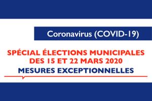 Communiqué de Mme le Maire sur l'organisation des élections municipales à Lourdes