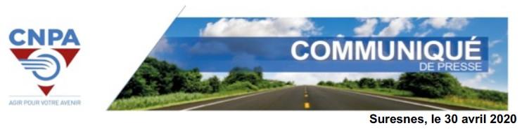 Communiqué du Conseil National des Professionnels de l'Automobile : conditions de reprise envisagées par les écoles de conduite