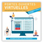 Portes ouvertes virtuelles : échanges en direct pour trouver la formation en apprentissage dans l'industrie qui vous correspond