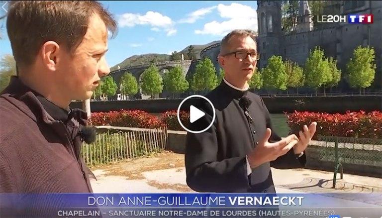 Read more about the article Lourdes : Beau reportage de TF1 sur le Sanctuaire de Lourdes