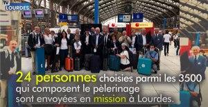 Un pèlerinage à Lourdes «Autrement», un exemple venu de Lille.
