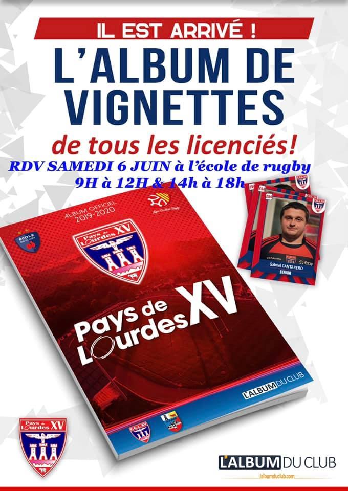 Lourdes : l'album vignettes de tous les licenciés du FCL XV est arrivé
