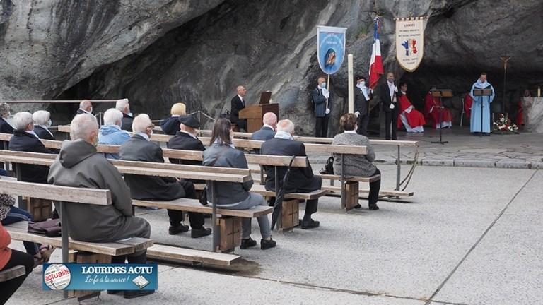 Lourdes : le Pèlerinage-Rencontre National des Anciens combattants AFN a eu lieu en comité restreint