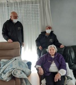 Lourdes : Les Petits Frères des Pauvres fêtent les mères