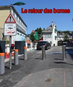 Lourdes : le retour des bornes ! Oui mais…