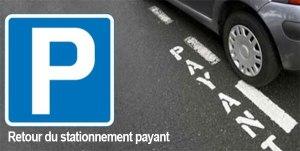 Lourdes : Communiqué de la Mairie Retour au stationnement payant
