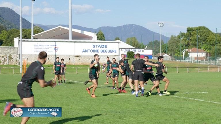 Lourdes : la Section paloise suit un entraînement sérieux