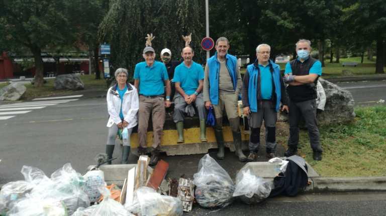 Read more about the article L' AAPPMA des Pêcheurs Lourdais et du Lavedan a participé à «La Journée mondiale du nettoyage» à Lourdes