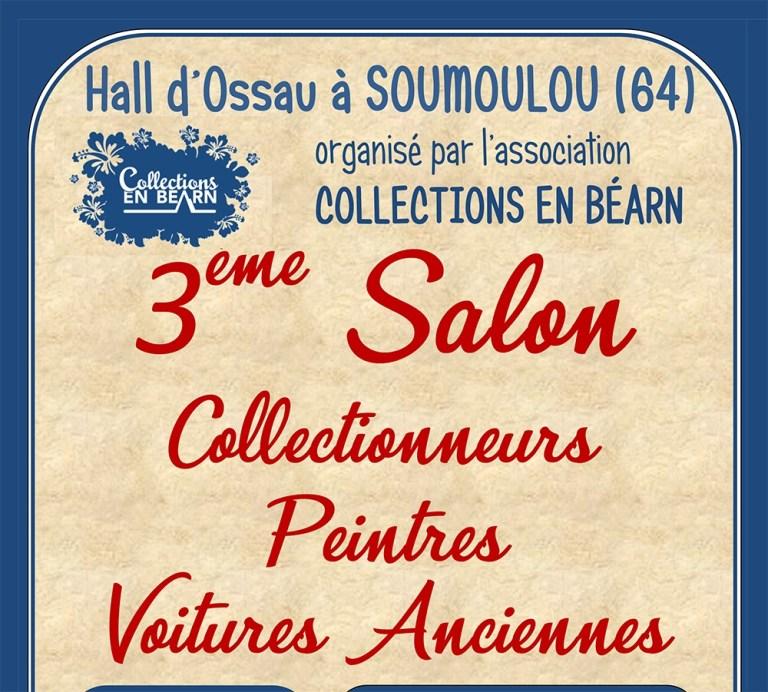 Soumoulou : 3ème Salon des collectionneurs, peintres et voitures anciennes les 26 et 27 septembre