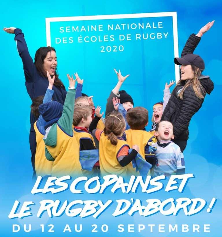 Read more about the article C'est parti pour la semaine des écoles de rugby !