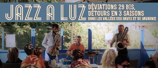 Festival d'Altitude Pyrénées Vallées des Gaves : Jazz à Luz, Programme culturel décliné d'octobre à décembre 2020
