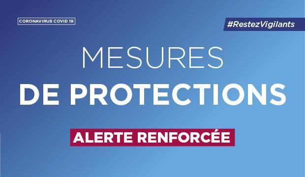 Read more about the article Covid 19 : Les mesures en vigueur à partir de ce lundi 28 septembre établies par la Préfecture