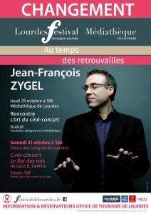 Festival de musique sacrée de Lourdes…. encore du changement !