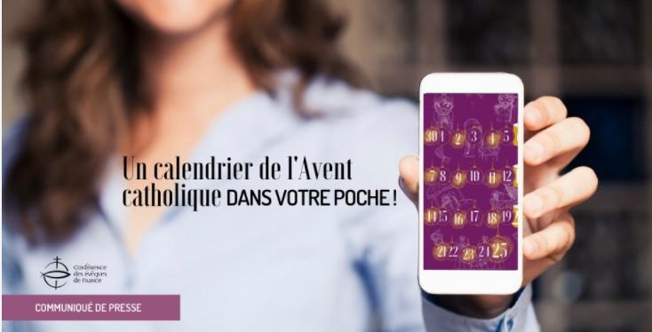Read more about the article La Conférence des évêques de France lance un calendrier de l'Avent sur mobile