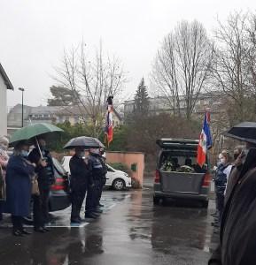 Hommage du Cercle patriotique du Pays de Lourdes à Claude UJOL