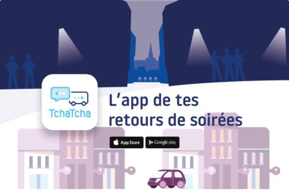 Read more about the article Aidez-nous à sauver des vies grâce à l'application TCHATCHA prévue pour les retours de soirées