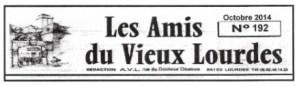 Les Vœux des «Amis du Vieux Lourdes»