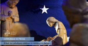 À Noël les catholiques célèbrent la naissance du Sauveur