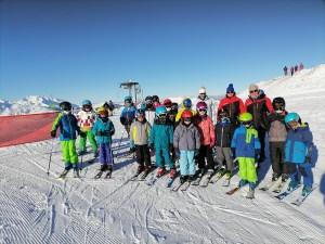 Sortie Ski Club des sports Lourdes Hautacam