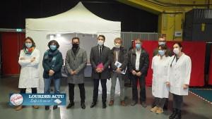 Lourdes  : le Centre de vaccination de l'espace Robert Hossein est opérationnel