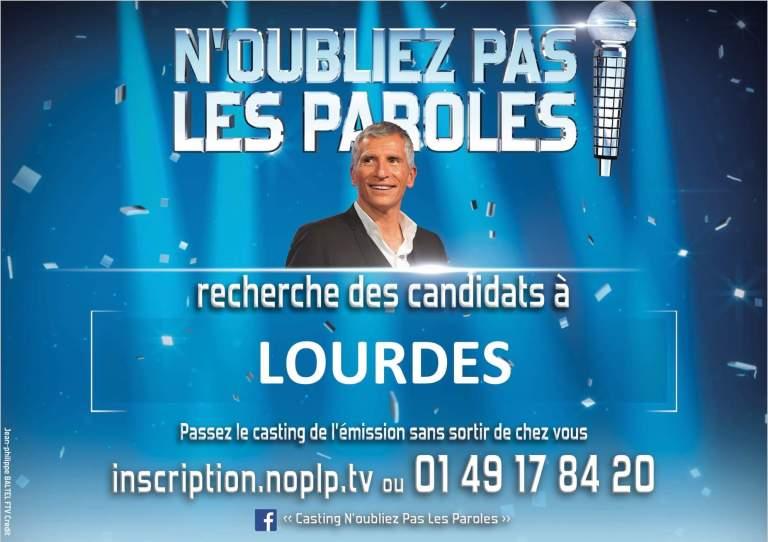 Read more about the article N'Oubliez Pas les Paroles ! : en casting à Lourdes