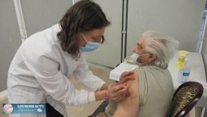 Centre éphémère de vaccination COVID à Luz
