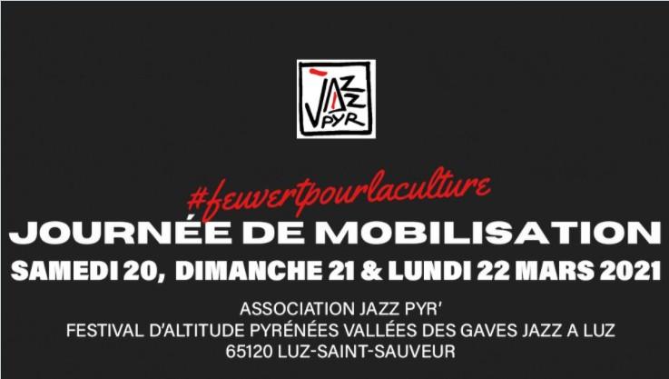 Read more about the article Journées de mobilisations pour la réouverture de tous les lieux culturels : les rendez-vous culturels de ce weekend dans les Hautes-Pyrénées