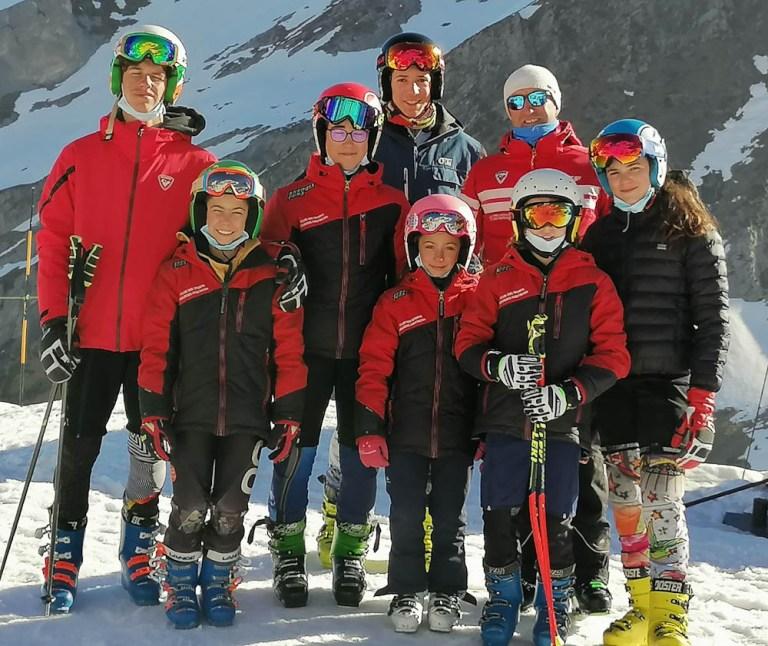 Read more about the article Dernier jour d'entraînement pour le Ski Club Lourdes Hautacam