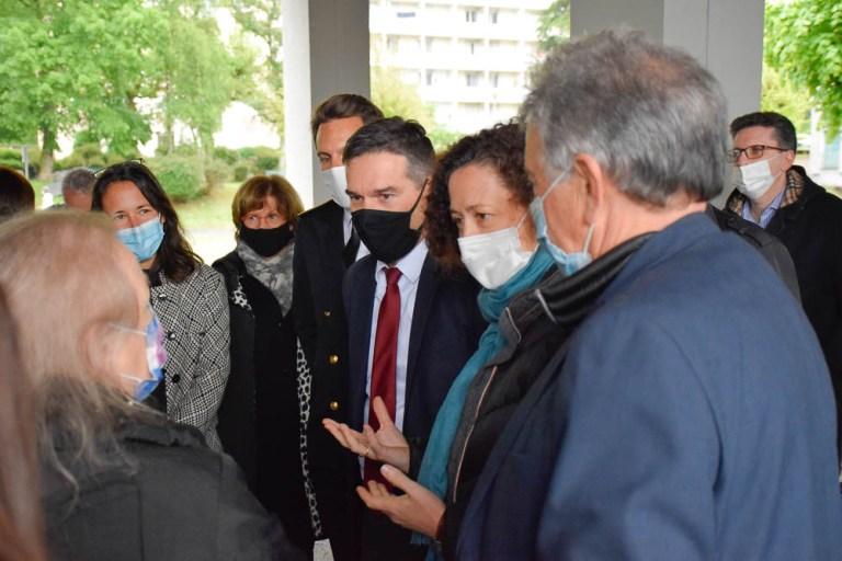 Lourdes : Visite d'Emmanuelle WARGON, Ministre chargée du logement