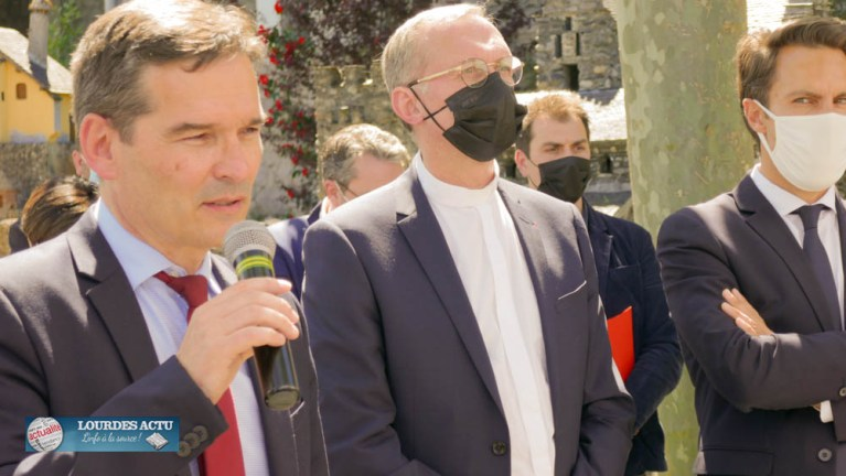 Read more about the article Lourdes : Visio-conférence chaleureuse avec le Secrétaire d'Etat au Tourisme