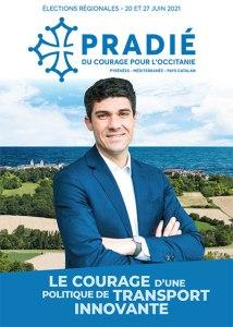 Read more about the article Régionales 2021 : Communiqué de la liste «Du courage pour l'Occitanie» d'Aurélien Pradié : Une politique de transport innovante