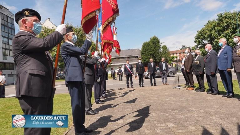 Read more about the article Lourdes : Cérémonie commémorative de la Journée Nationale de l'Appel du 18 Juin 1940